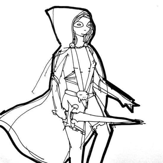 Gamora_KidAcne_Sketch