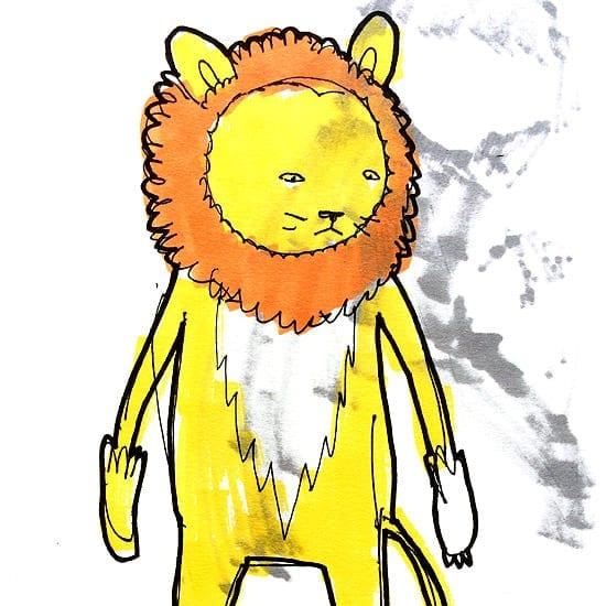 kidacne_lionsketch