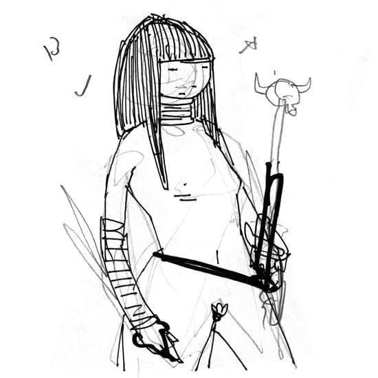 KidAcne_StabbyWomen_FemaleWarrior_D