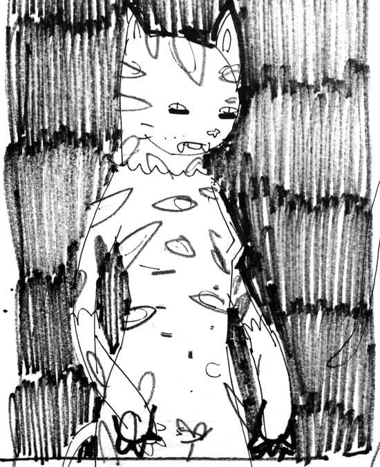 KidAcne_CatGirl_Sketch