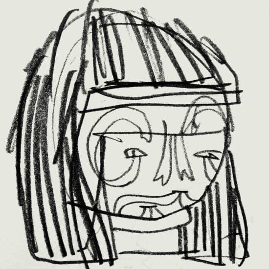 SnakeFace_KidAcne_Sketch